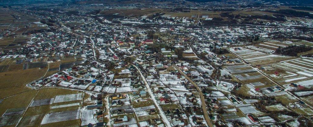 Долина, Черновцы - Фото с квадрокоптера