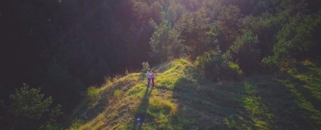 Свадебное видео+ Лав стори, Тамбов - Фото с квадрокоптера