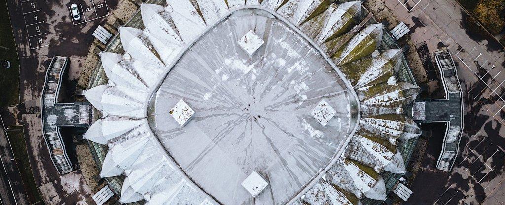 Вокруг симметрия., Москва - Фото с квадрокоптера
