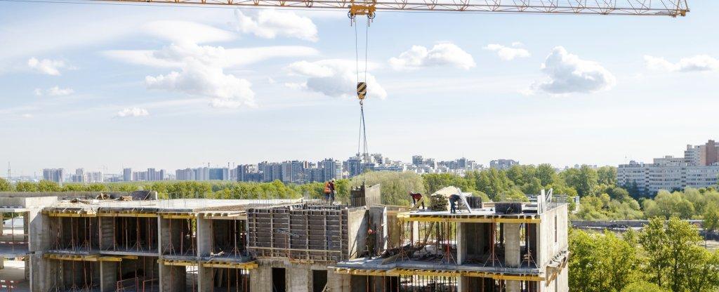 Фотосъемка хода строительства строящихся объектов,  - Фото с квадрокоптера