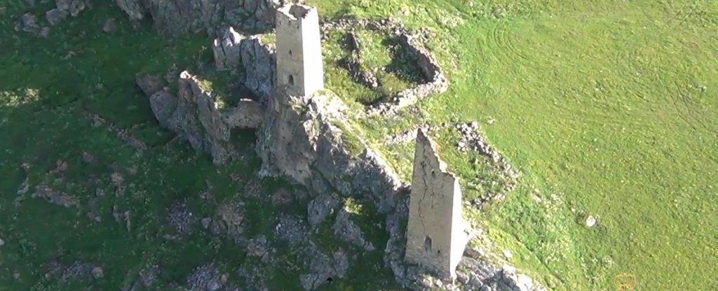 Башни Осетии. Магия полета, Владикавказ - Фото с квадрокоптера