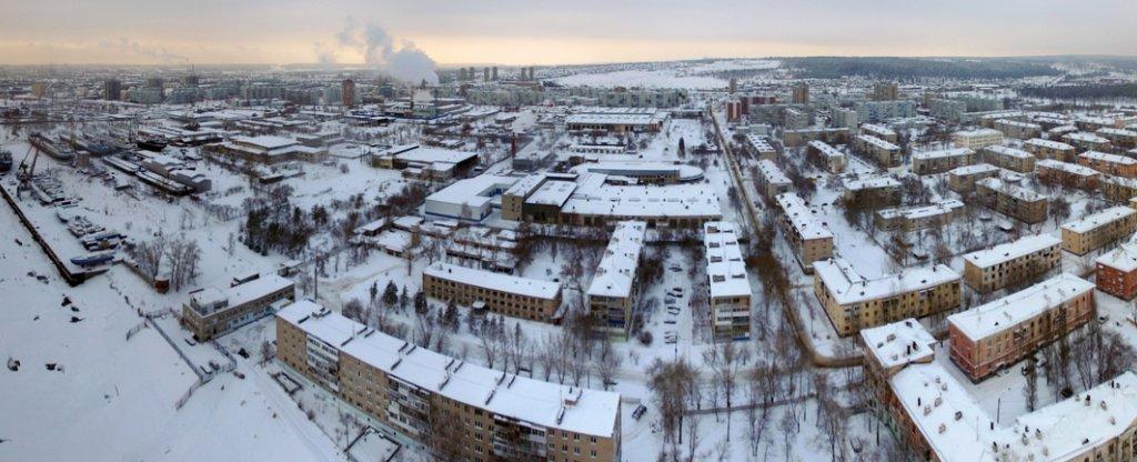 Шлюзовой, Тольятти - Фото с квадрокоптера