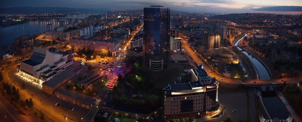 Город, Красноярск - Фото с квадрокоптера