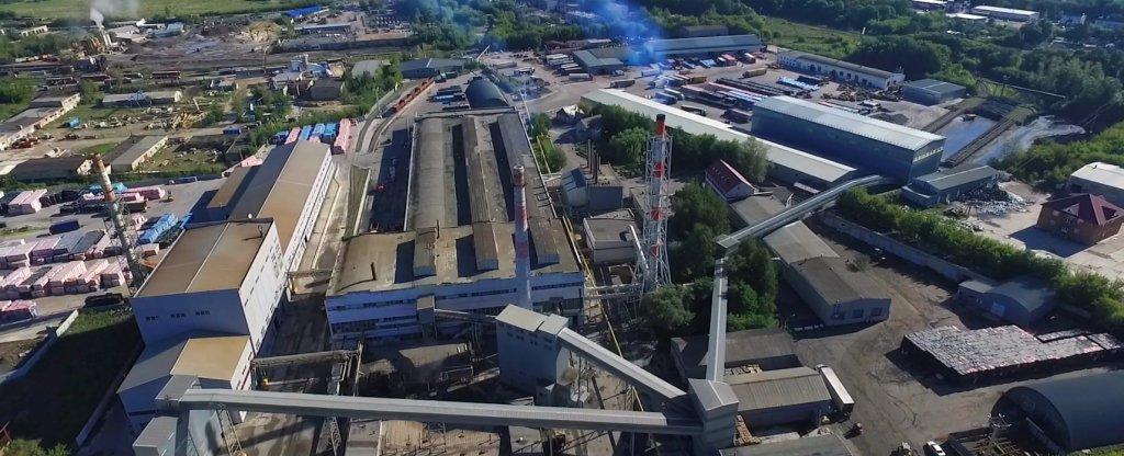 Завод ISOROC, Тамбов - Фото с квадрокоптера