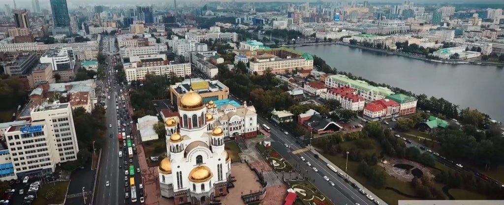 Екатеринбург с квадрокоптера. Сентябрь 2016., Екатеринбург - Фото с квадрокоптера