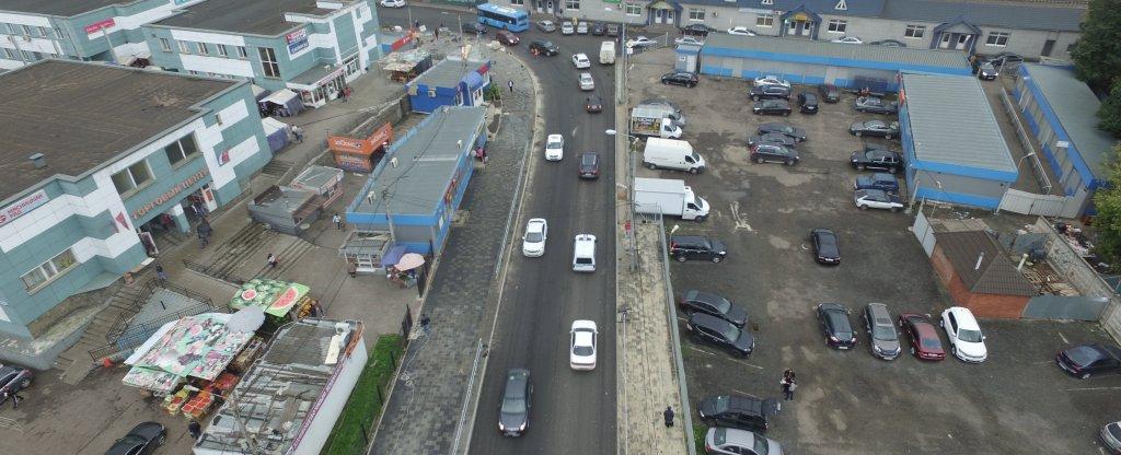 парковка,  - Фото с квадрокоптера