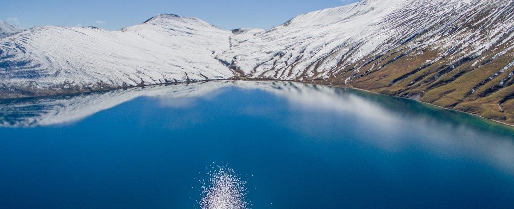Кельское озеро, Южная Осетия, Владикавказ - Фото с квадрокоптера