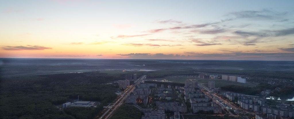 Майский вечер, Обнинск - Фото с квадрокоптера
