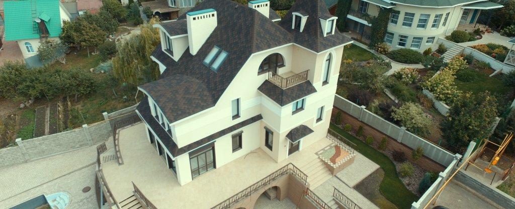 Коттедж в Самаре,  - Фото с квадрокоптера