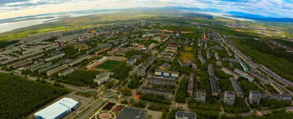 Город Апатиты, Апатиты - Фото с квадрокоптера