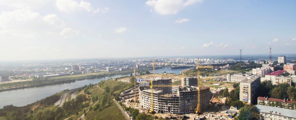 Нижний Новгород, Нижний Новгород - Фото с квадрокоптера