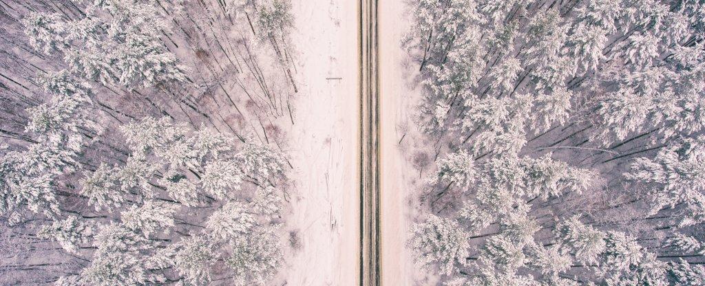 Зимнее, Алексин - Фото с квадрокоптера