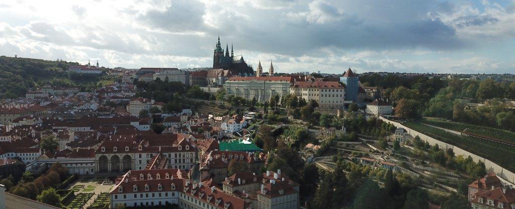 Прага,  - Фото с квадрокоптера