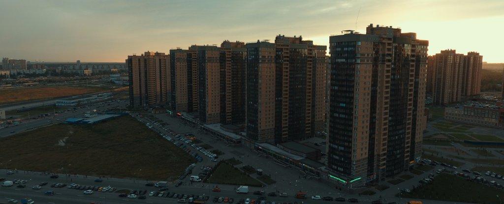 ЖК Парнас, Санкт-Петербург - Фото с квадрокоптера