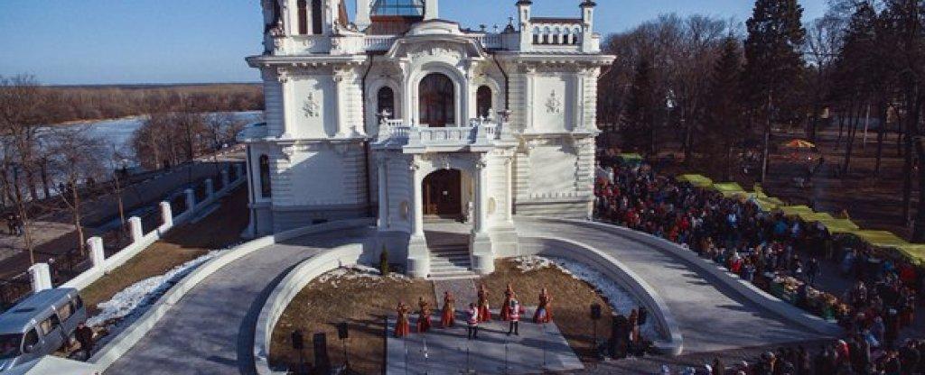Масленица, Тамбов - Фото с квадрокоптера