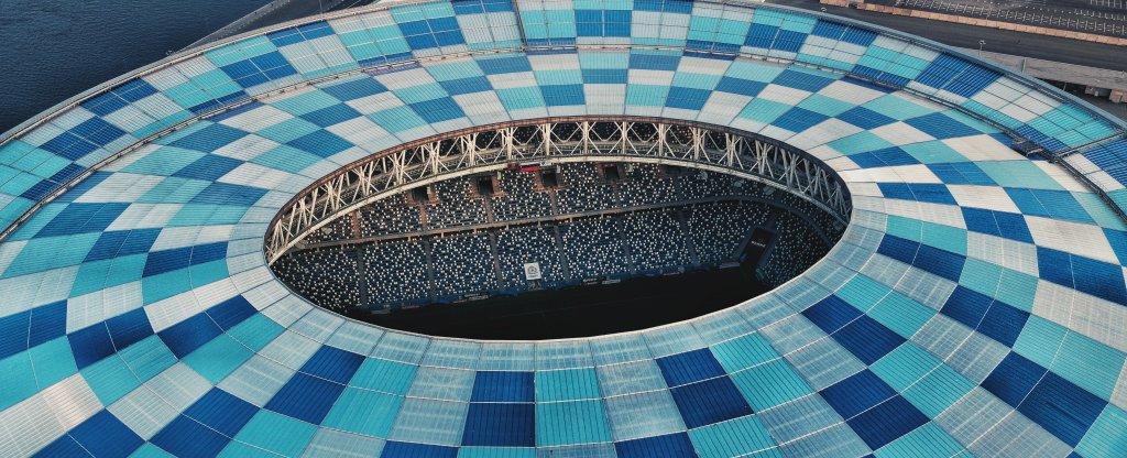 Stadium NN,  - Фото с квадрокоптера