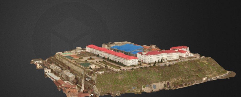 3-Д модель Филиала МГУ в г. Севастополе., Севастополь - Фото с квадрокоптера