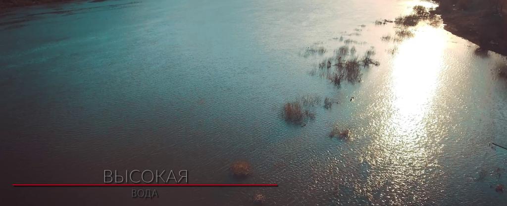 Высокая вода, Алексин - Фото с квадрокоптера