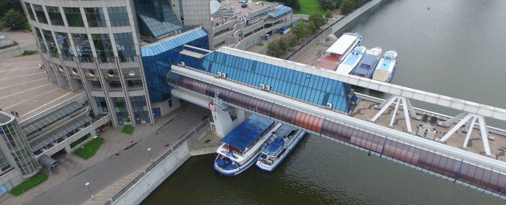 Мост Багратион Техническая съёмка, Москва - Фото с квадрокоптера