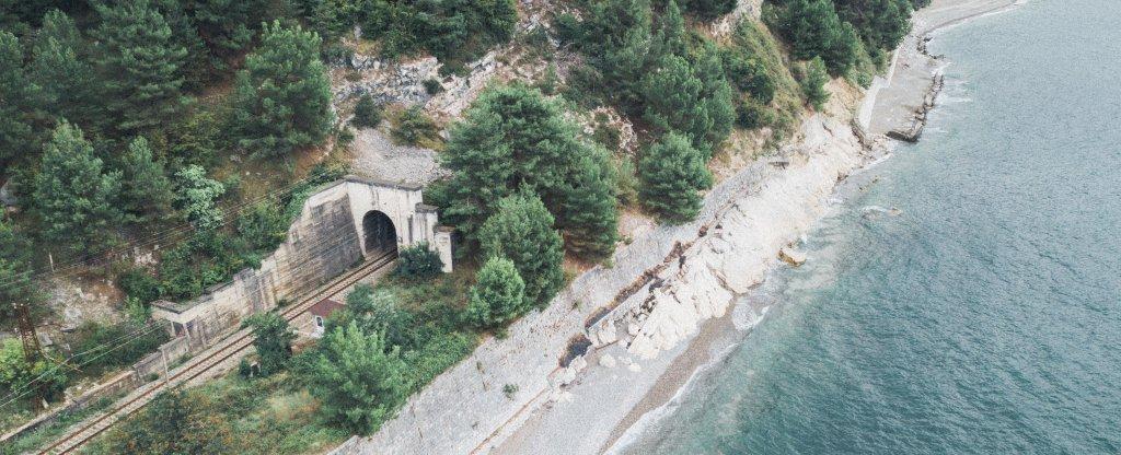 Абхазия, Гагра - Фото с квадрокоптера