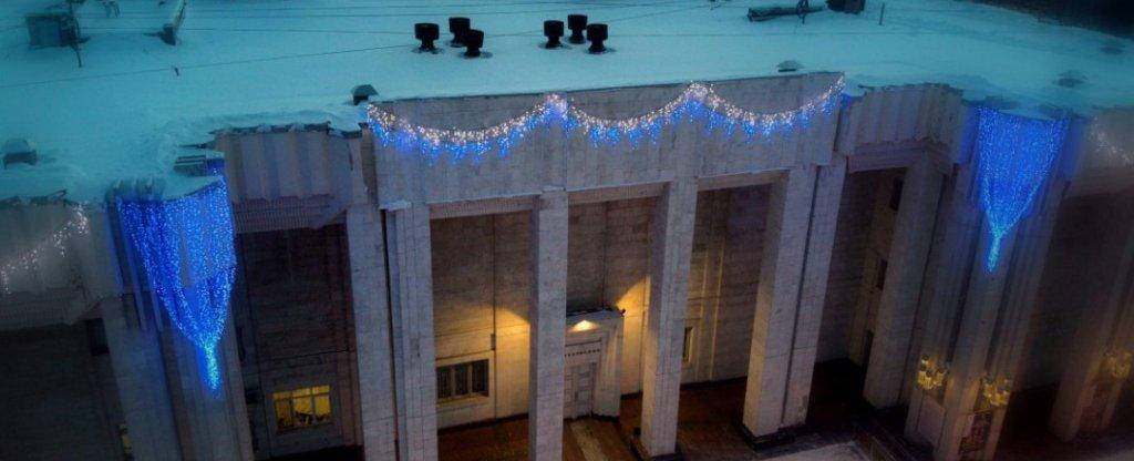 Костромская филармония, Кострома - Фото с квадрокоптера