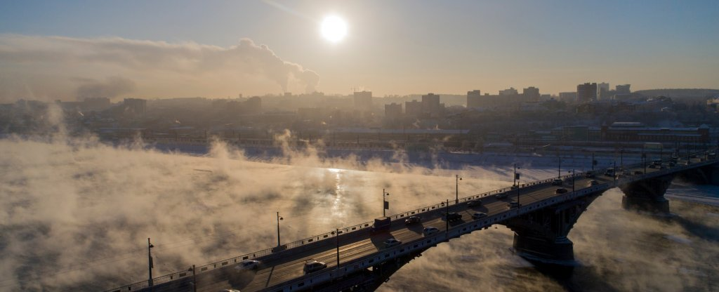 Иркутск - Старый мост, Иркутск - Фото с квадрокоптера