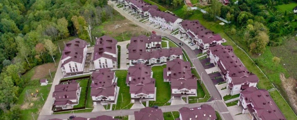 Аэросъемка коттеджныъх поселков, Нижний Новгород - Фото с квадрокоптера