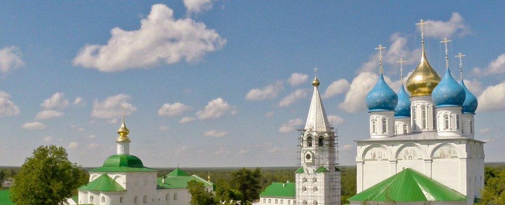 Флорищева пустынь, Нижний Новгород - Фото с квадрокоптера