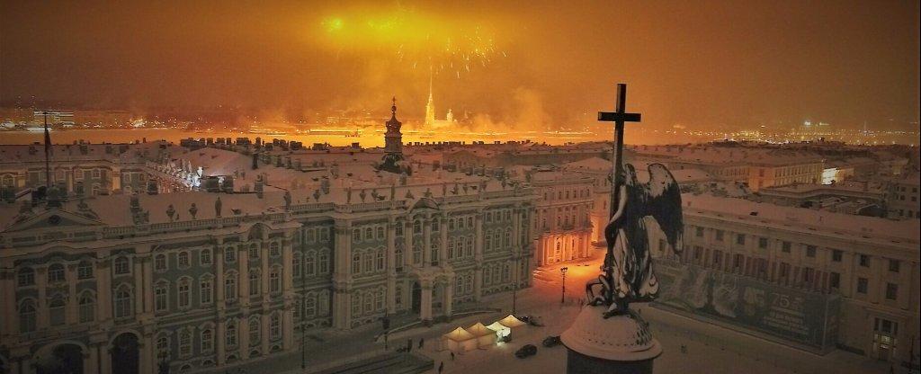 Салют, Санкт-Петербург - Фото с квадрокоптера