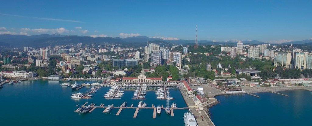 Sochi Yacht Show 2016, Сочи - Фото с квадрокоптера