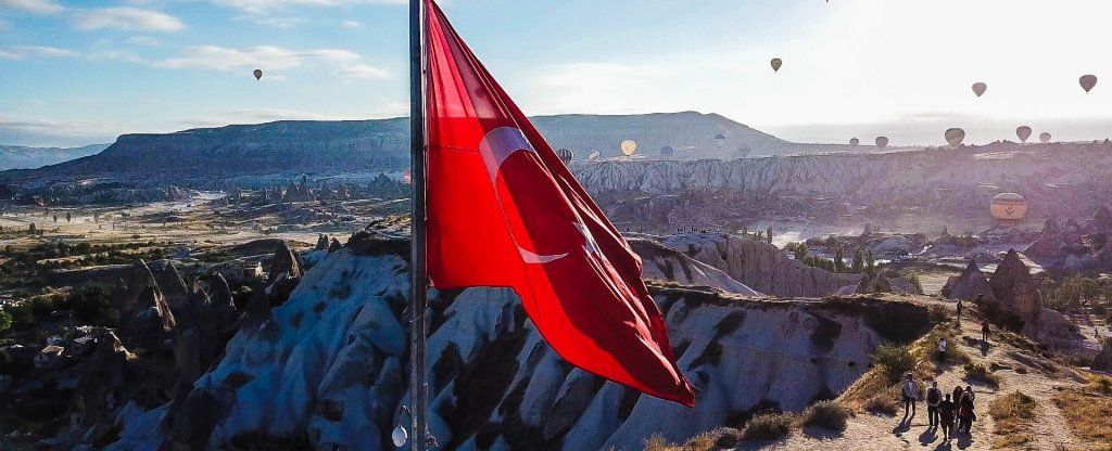 Каппадокия, Турция,  - Фото с квадрокоптера