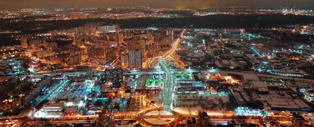 Город Одинцово, Московская область,  - Фото с квадрокоптера