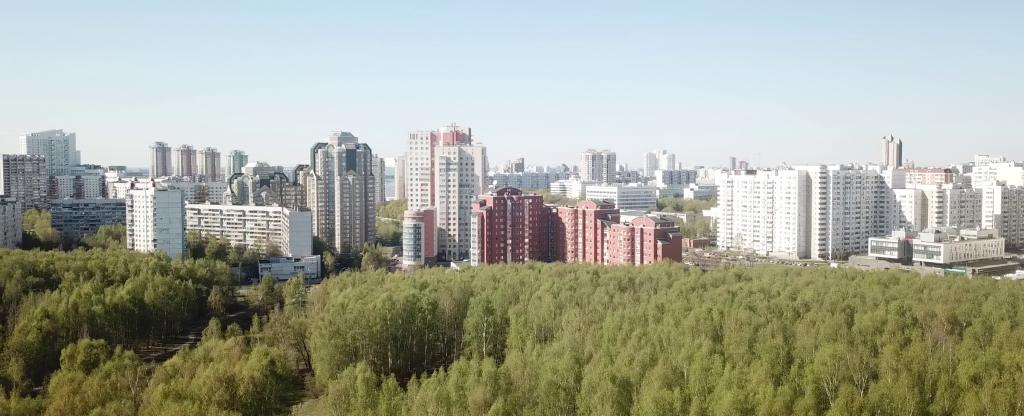 Москва,  - Фото с квадрокоптера