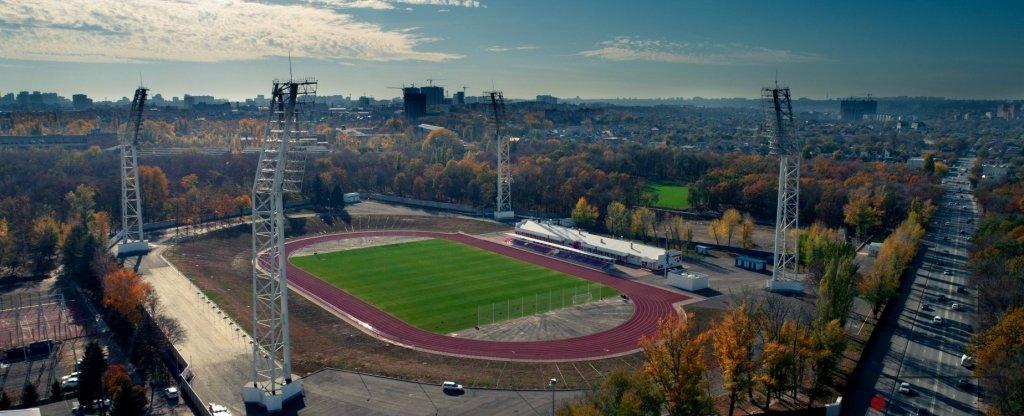 Стадион СКА,  - Фото с квадрокоптера