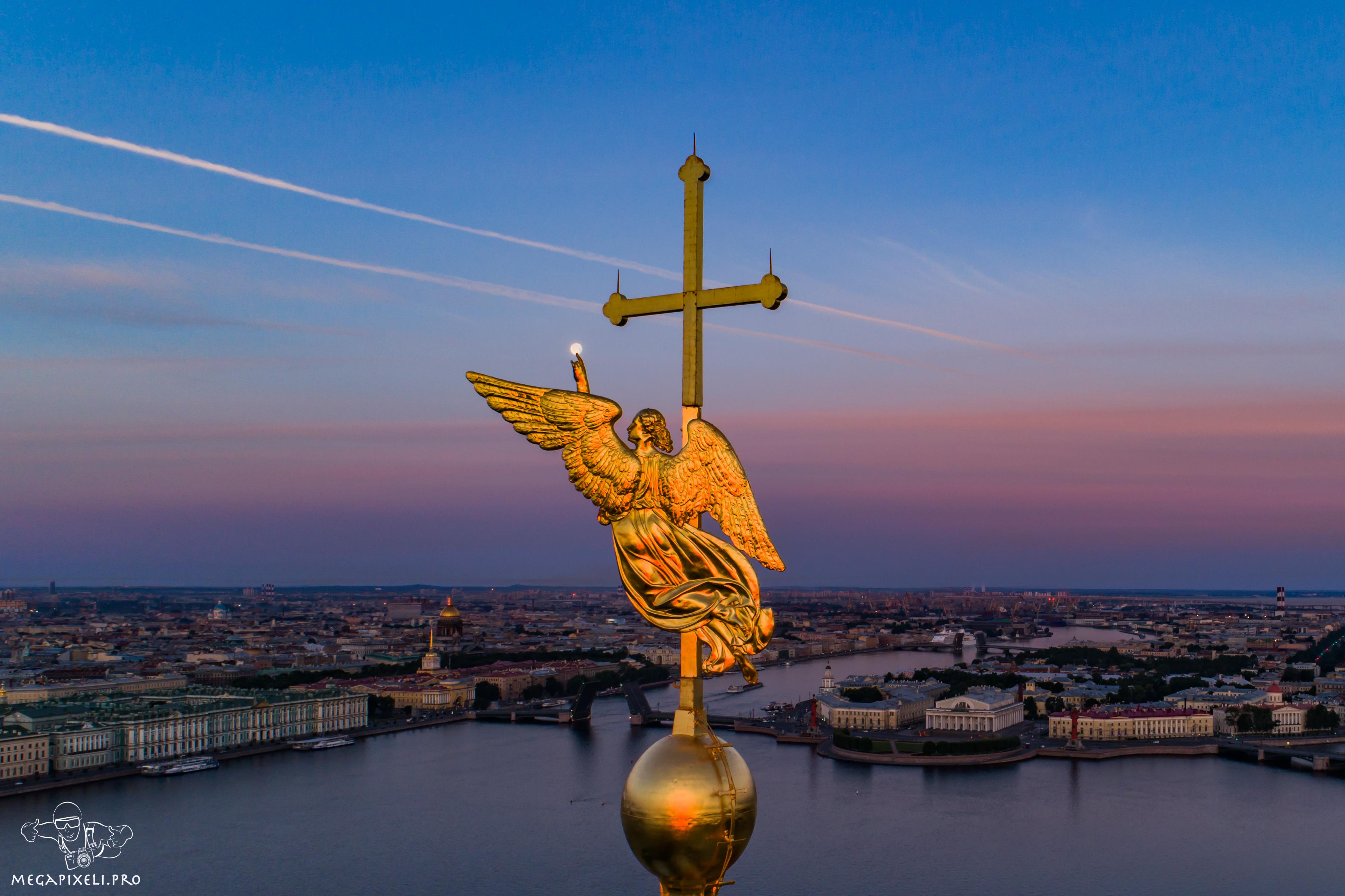 собор шпиля петропавловский фото