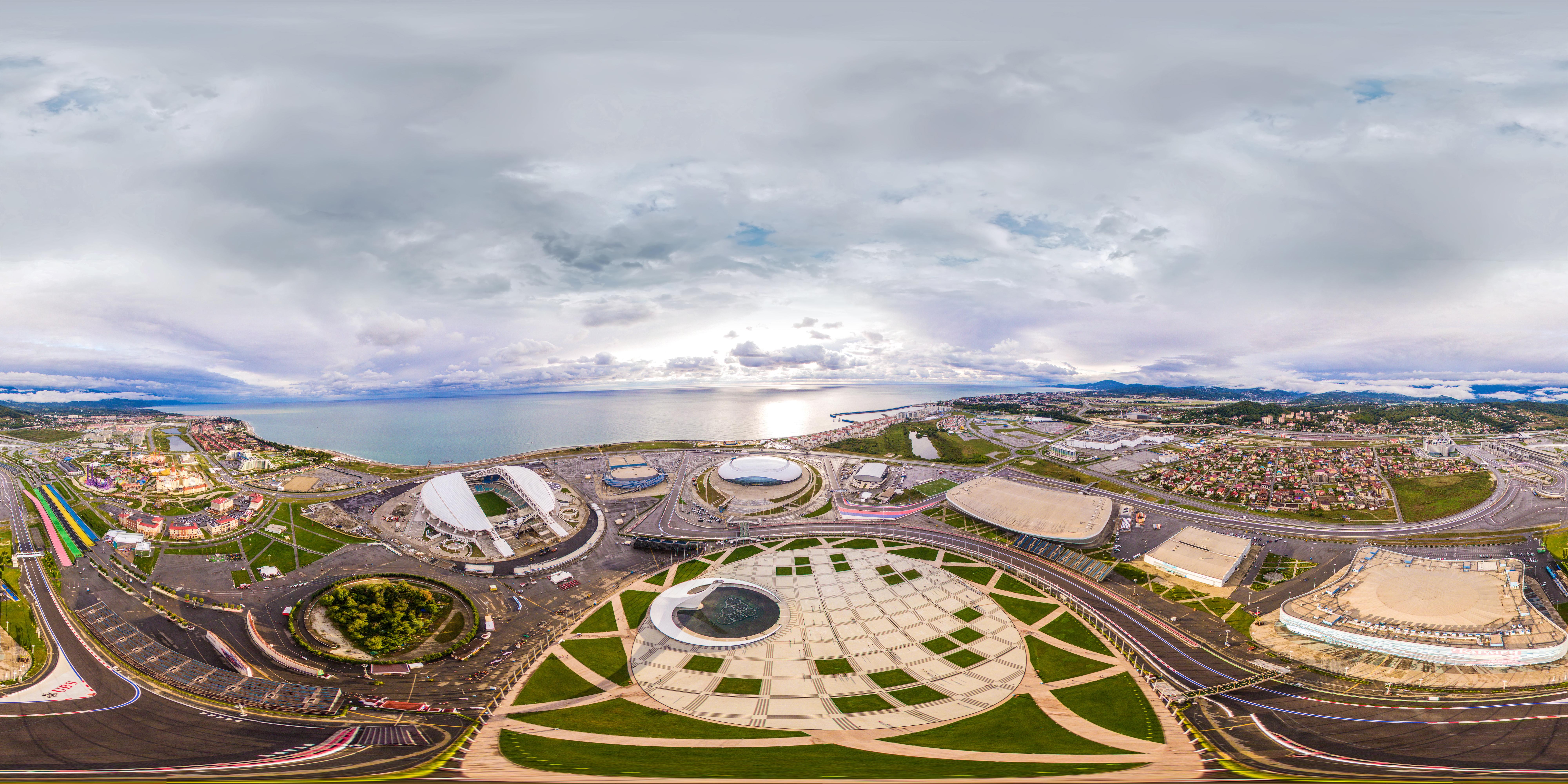 идеи фото олимпийский парк сочи вид сверху для