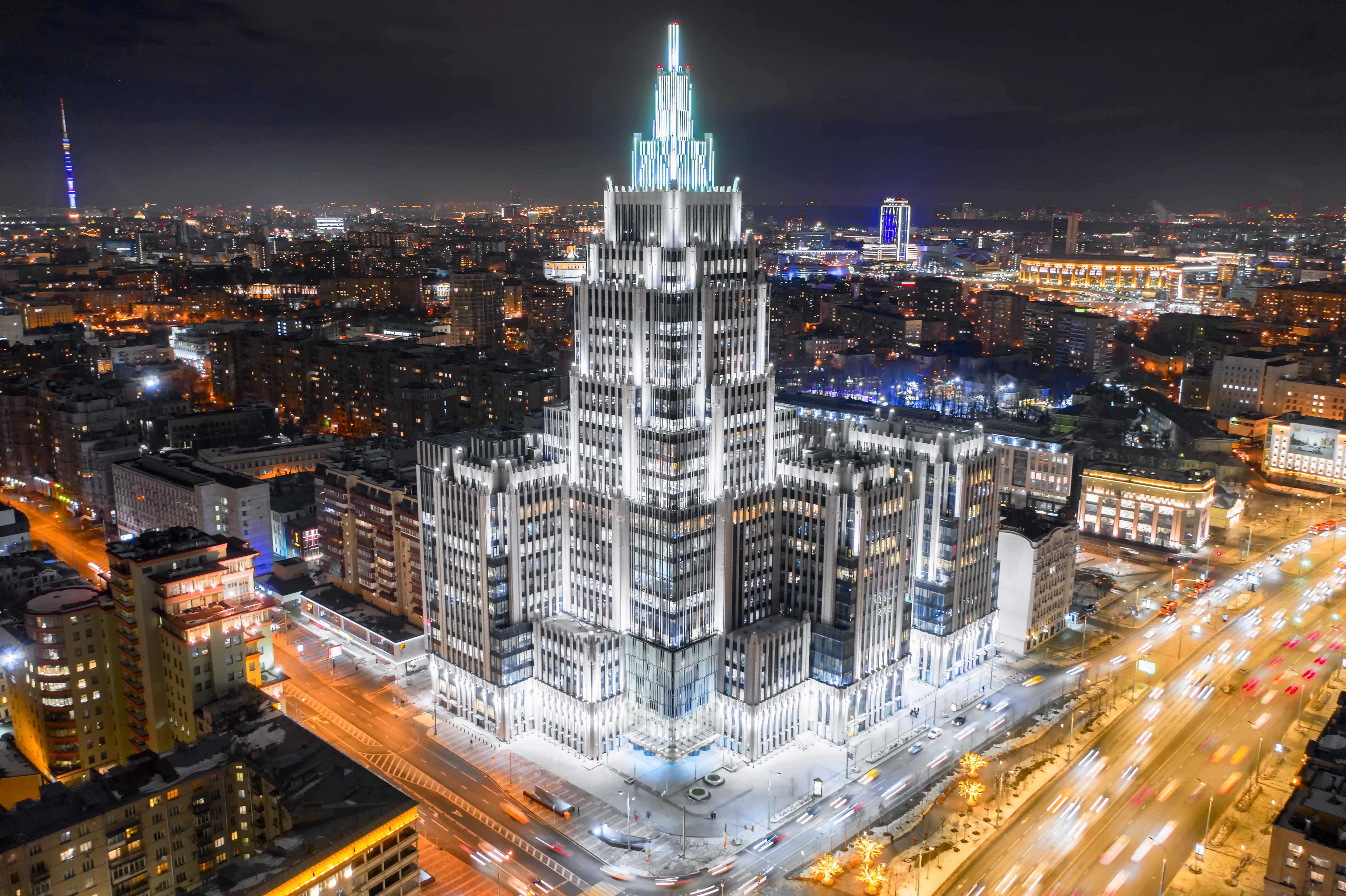 высотки красивые фото в москве давно известна