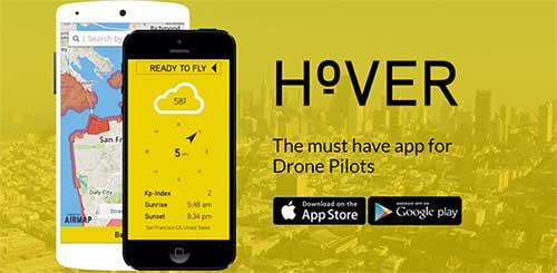 Приложение для квадрокоптеров Hover