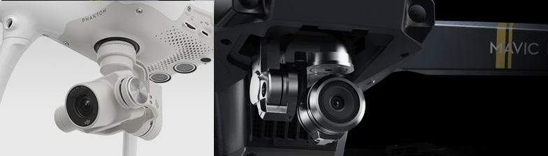 Сравнение камер Mavic Pro и Phantom 4