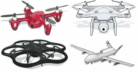 Типы дронов
